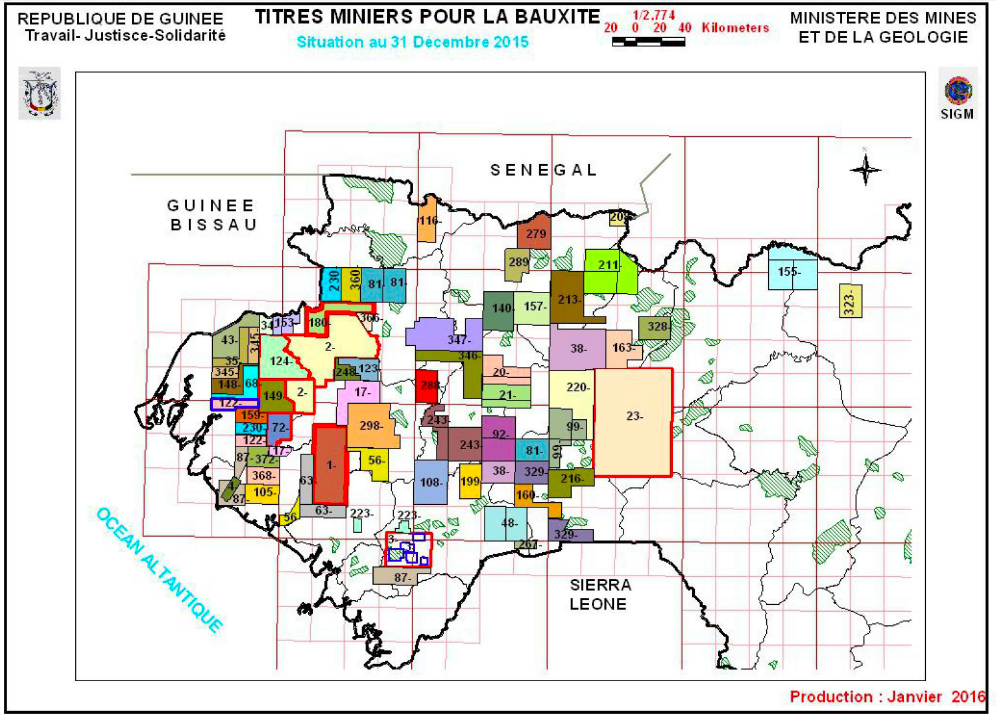 Maps - Ministry of Mines and Geology | Republic of Guinea
